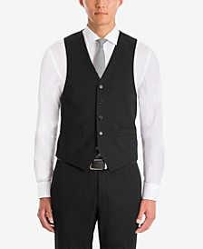 Men's UltraFlex Classic-Fit Black Wool Vest