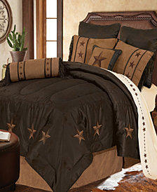 LaRedo Comforter Set, Twin Chocolate