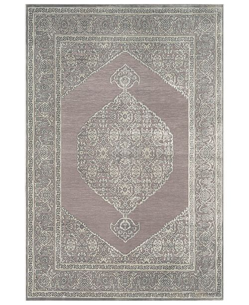 "Surya Aesop ASP-2317 Medium Gray 7'10"" x 10'4"" Area Rug"