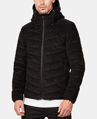 G-Star RAW Men's Slim-Fit Corduroy Hooded Jacket, Created for Macy's