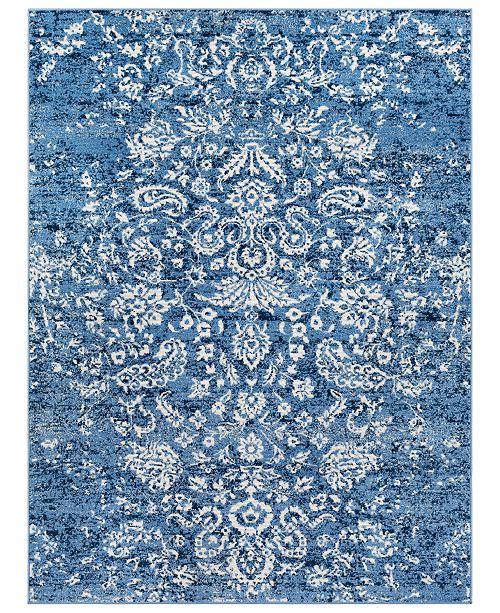Surya Bahar BHR-2307 Bright Blue 2' x 3' Area Rug