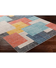 """City CIT-2342 Coral 18"""" Area Rug Swatch"""