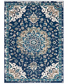 "CLOSEOUT! Clairmont CMT-2314 Navy 9'3"" x 12'3"" Area Rug"