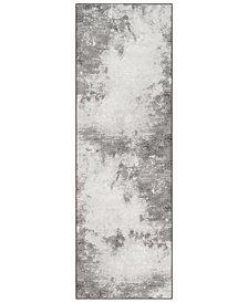 """Surya Contempo CPO-3839 Light Gray 2'7"""" x 7'10"""" Runner Area Rug"""