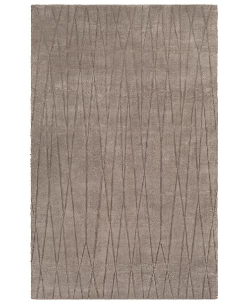 Surya Etching ETC-4996 Medium Gray 2' x 3' Area Rug