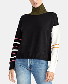 RACHEL Rachel Roy Libra Turtleneck Sweater, Created for Macy's