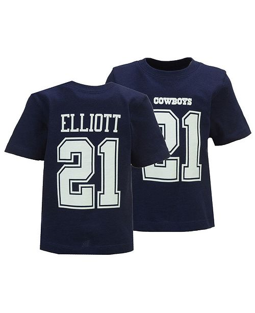 sneakers for cheap a56e4 d36fc Ezekiel Elliott Dallas Cowboys Eligible Player Name & Number T-Shirt,  Infants (12-24 Months)