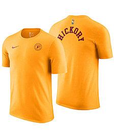 Nike Men's Indiana Pacers Hardwood Classics Logo T-Shirt