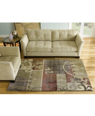 Area Rug, Generations 8007A Tranquility 5' 3