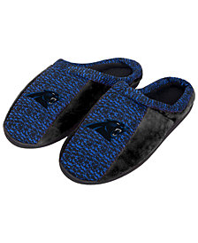 Forever Collectibles Carolina Panthers Knit Cup Sole Slippers