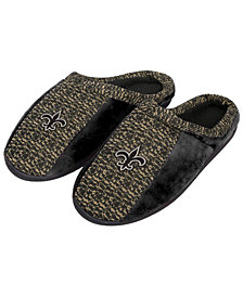 Forever Collectibles New Orleans Saints Knit Cup Sole Slippers