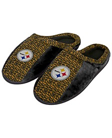 Pittsburgh Steelers Knit Cup Sole Slippers