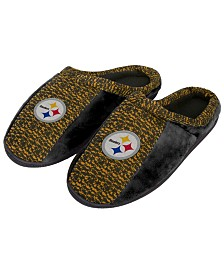 Forever Collectibles Pittsburgh Steelers Knit Cup Sole Slippers