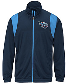 G-III Sports Men's Tennessee Titans Clutch Time Track Jacket