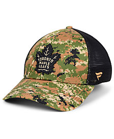 Authentic NHL Headwear Toronto Maple Leafs Military Appreciation Speed Flex Stretch Fitted Cap