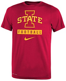 Iowa State Cyclones Logo Sport Drop T-Shirt, Big Boys (8-20)