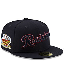 New Era Tacoma Rainiers League Patch 59FIFTY-FITTED Cap