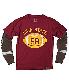 Iowa State Cyclones Football Sleeve 2-In-1 T-Shirt, Infants (12-24 Months)