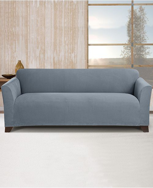 Admirable Stretch Morgan 1 Pc Sofa Slipcover Gmtry Best Dining Table And Chair Ideas Images Gmtryco