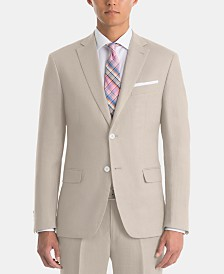 Lauren Ralph Lauren Men's UltraFlex Classic-Fit Tan Linen Sport Coat