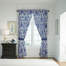 "Croscill Leland 84"" Square Curtain Panel Pair"