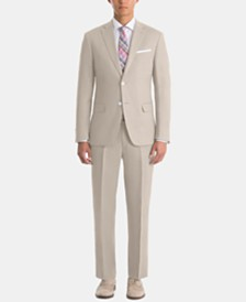 Lauren Ralph Lauren Men's UltraFlex Classic-Fit Tan Linen Suit Separates