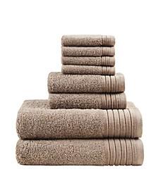 Signature Mirage Solid 100% Cotton 8-Pc. Towel Set