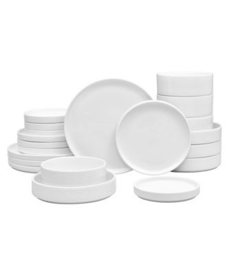 Colortex Stone 20-Pc  Dinnerware Set, Created for Macy's
