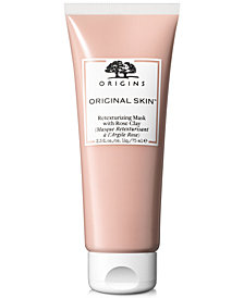 Origins Original Skin Retexturing Mask With Rose Clay, 2.5-oz.