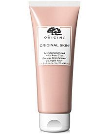 Origins Original Skin Retexturizing Mask With Rose Clay, 2.5-oz.