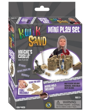 KwikSand Mini Play Set - Knight's Castle
