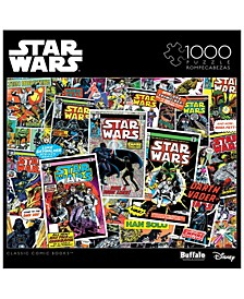 Star Wars Collage - Classic Comic Books- 1000 Pieces Puzzle