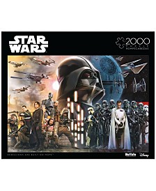 Star Wars Rogue One - Rebellions Are Built On Hope- 2000 Pcs Puzzle