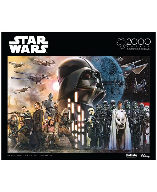 Buffalo Games Star Wars Rogue One - Rebellions Are Built On Hope- 2000 Pcs Puzzle