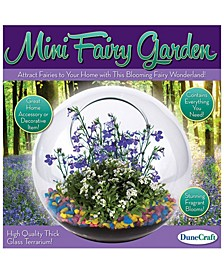 Glass Terrarium - Mini Fairy Garden