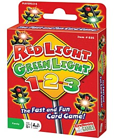 Red Light, Green Light, 1-2-3! Card Game