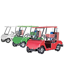 Metal Earth 3D Metal Model Kit - Golf Cart Set