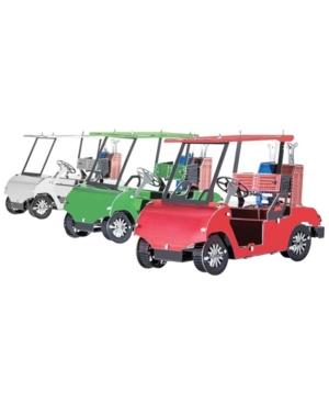 Metal Earth 3D Metal Model Kit - Golf Cart Set