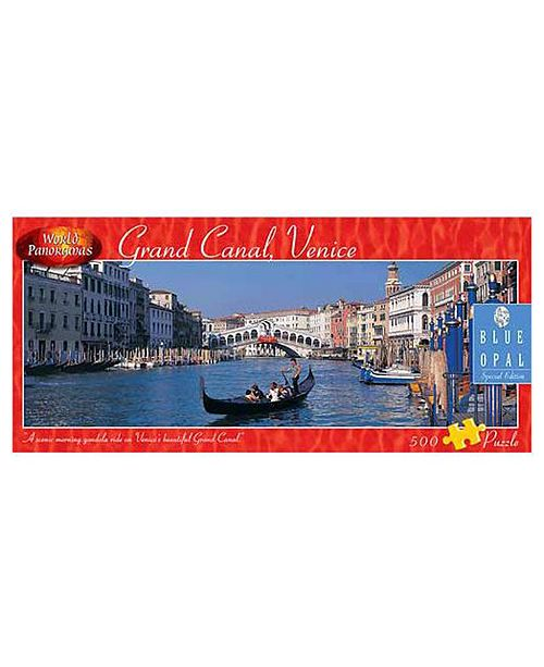 Blue Opal World Panoramas - Grand Canal, Venice Puzzle- 500 Pieces