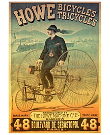 Howe Bicycles - Vintage Poster Jigsaw Puzzle - 1000 Piece