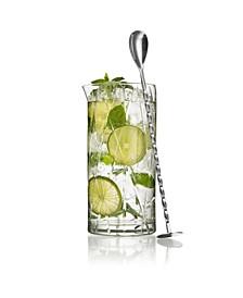 City Mixing Glass w/Bar Spoon