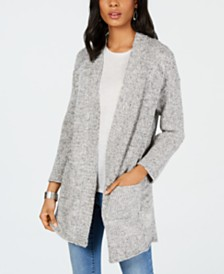 Style & Co Open-Front Completer Cardigan, Created for Macy's