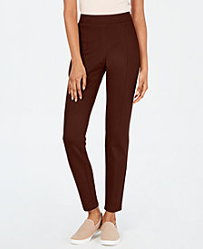 Style & Co Curvy Seamed Ponté-Knit Leggings, Created for Macy's