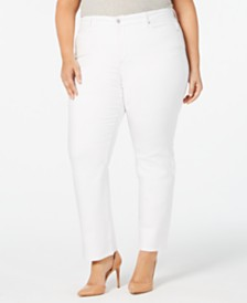 Charter Club Plus Size Lexington Straight-Leg Jeans, Created for Macy's