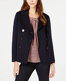 Weekend Max Mara Double-Breasted Peacoat