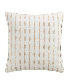 Eva Longoria Black Label Leopard Collection 16X16 Decorative Pillow