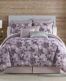 Eva Longoria Black Label Abergine Bedding Collection