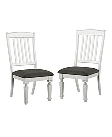 Cassie Antique White Side Chair (Set of 2)