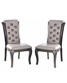 Sante Grey Side Chair (Set of 2)