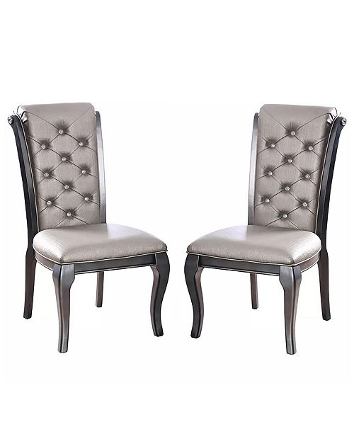 Furniture of America Sante Side Chair (Set Of 2)
